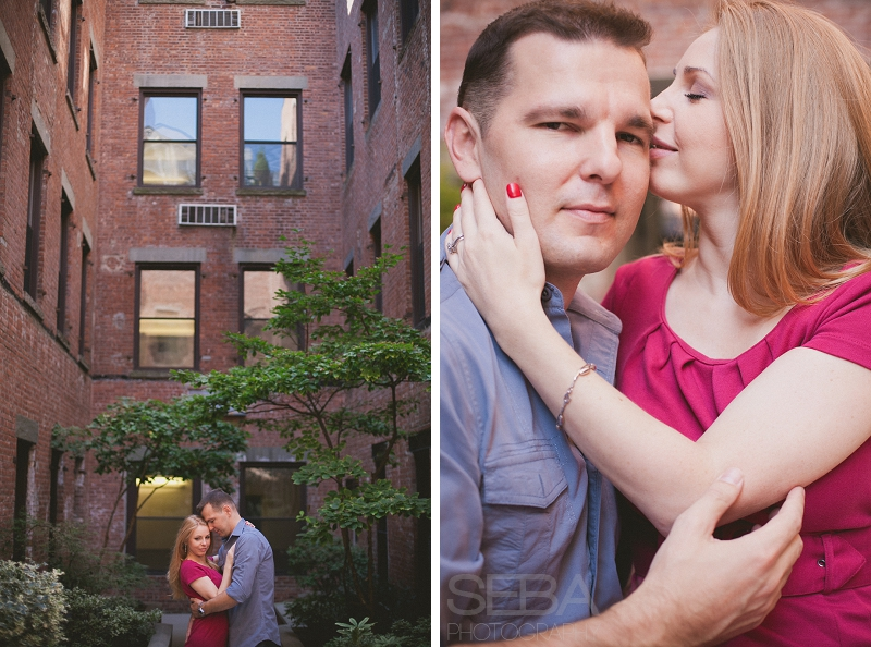 New Jersey Engagement Photographers 003 Hoboken New Jersey Engagement Photography | Kasia & Greg Engaged